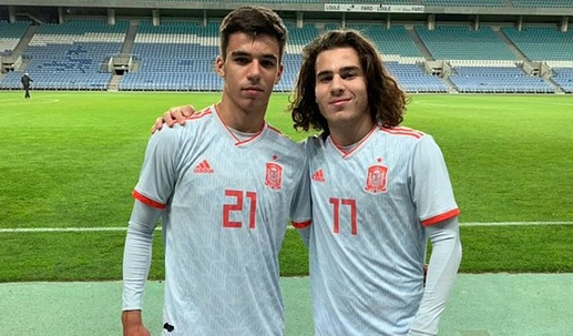 Gabri Veiga and Miguel Rodriguez